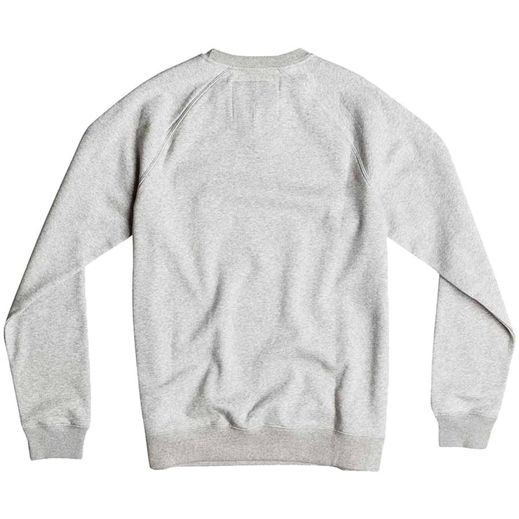 Surf Shop, Surf Clothing, Quiksilver, Everyday Crew, Sweatshirt, Light Grey Heather