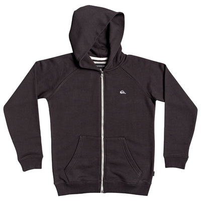 Surf Shop, Surf Clothing, Quiksilver, Everyday Zip Up Hoodie, Boys, Tarmac