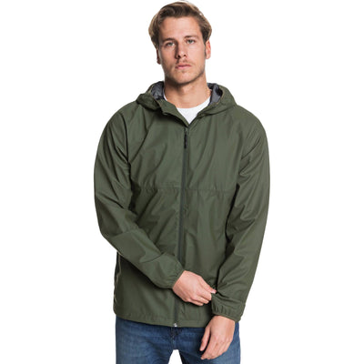 Surf Shop, Surf Clothing, Quiksilver, Kamakura Rains Hooded Raincoat, Jackets, Deep Depths