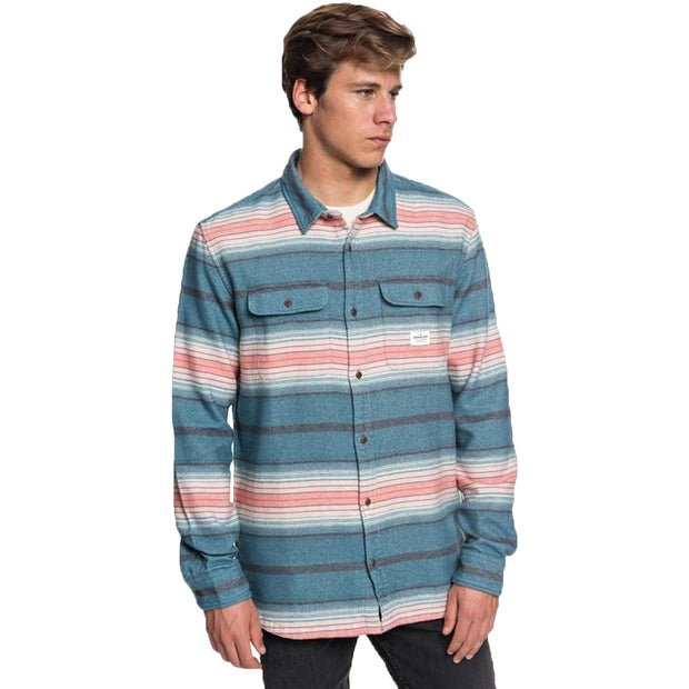 Surf Shop, Surf Clothing, Quiksilver, Kanagawa Shirt, Shirts, Tapestry Heavy Flannel Stripe