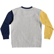 Surf Shop, Surf Clothing, Quiksilver, Local Groms, Sweatshirt, Light Grey Heather