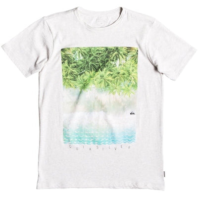 Surf Shop, Surf Clothing, Quiksilver, Perth Or Burst, Tshirt, Gardenia Heather