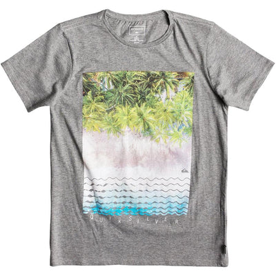 Surf Shop, Surf Clothing, Quiksilver, Perth Or Burst, Tshirt, Quiet Shade Heather