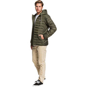 Surf Shop, Surf Clothing, Quiksilver, Scaly Hooded Puffer Jacket, Jackets, Deep Depths