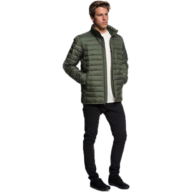 Surf Shop, Surf Clothing, Quiksilver, Scaly Puffer Jacket, Jackets, Thyme