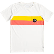 Surf Shop, Surf Clothing, Quiksilver, Season Stripe Pocket Tee, Tshirt, White