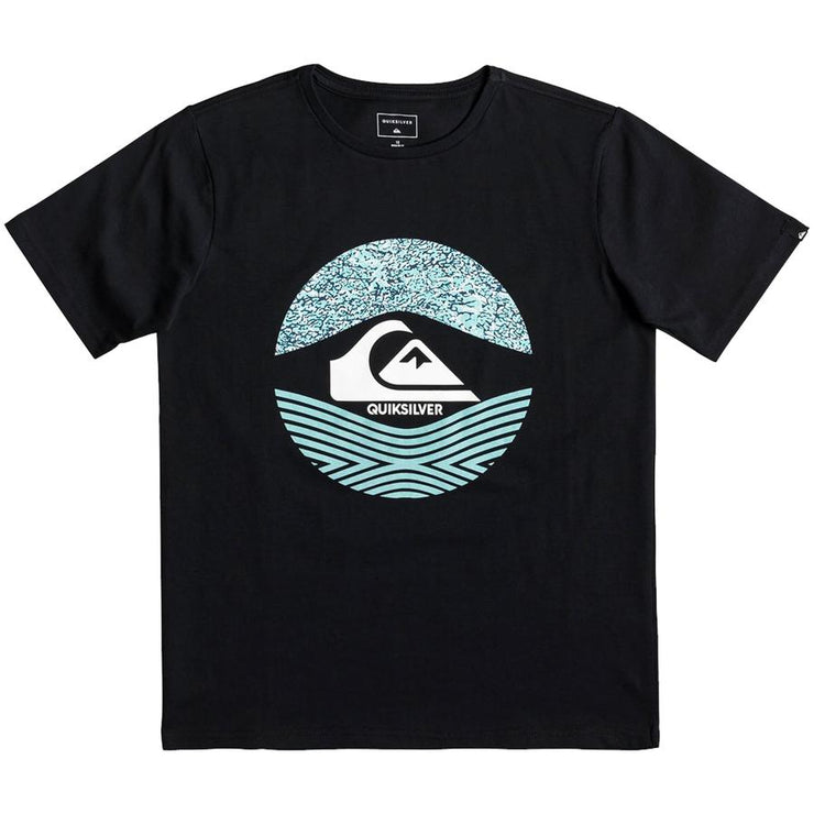 Surf Shop, Surf Clothing, Quiksilver, Stomped On, Tshirt, Black