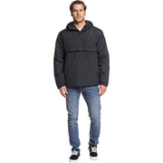Surf Shop, Surf Clothing, Quiksilver, Tazawa Hooded Water-Resistant Anorak, Jackets, Black