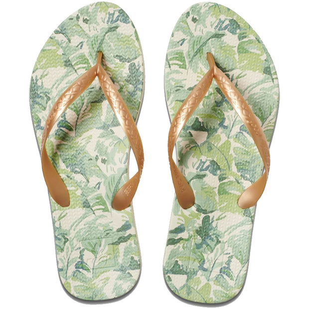 Surf Shop, Surf Clothing, Reef, Escape Lux + Prints, Flip Flops, Gold Palms