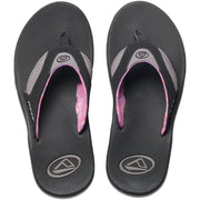 Surf Shop, Surf Clothing, Reef, Fanning, Flip Flops, Black/Grey