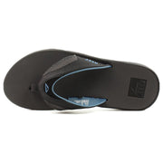 Surf Shop, Surf Clothing, Reef, Fanning, Flip Flops, Grey/Light Blue