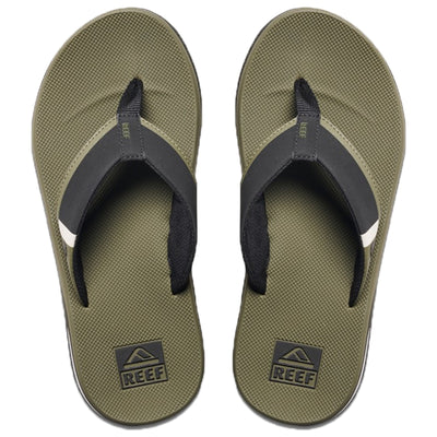Surf Shop, Surf Clothing, Reef, Fanning Low, Flip Flops, Olive