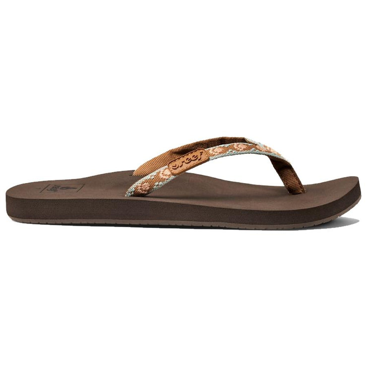 Surf Shop, Surf Clothing, Reef, Ginger, Flip Flops, Brown/Peach