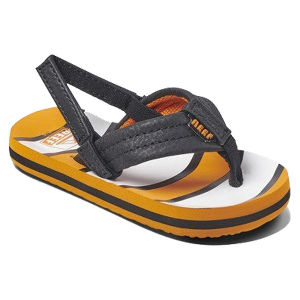 Surf Shop, Surf Clothing, Reef, Kids Ahi, Flip Flops, Orange Fish