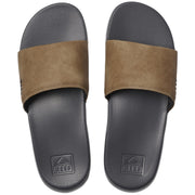 Surf Shop, Surf Clothing, Reef, One Slide, Flip Flops, Grey/Tan