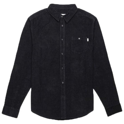Surf Shop, Surf Clothing, Rhythm, Corduroy LS Shirt, Shirts, Black