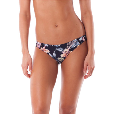 Surf Shop, Surf Clothing, Rhythm, South Pacific Cheeky Pant, Bikini, Black
