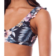 Surf Shop, Surf Clothing, Rhythm, South Pacific Scoop Top, Bikini, Black