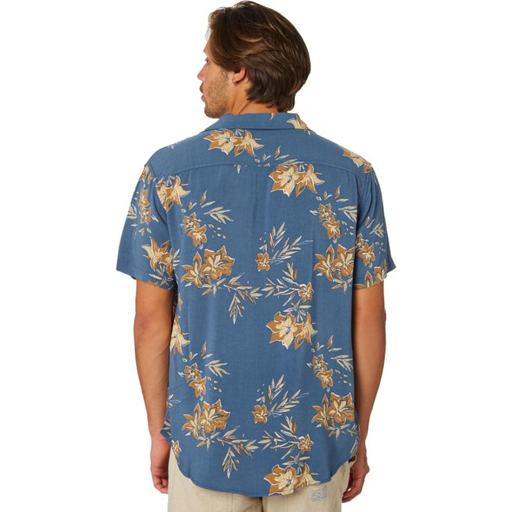 Surf Shop, Surf Clothing, Rhythm, Vintage Aloha SS Shirt, Shirt, Pacific Blue