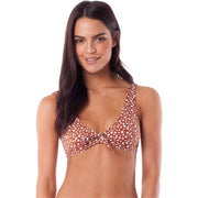 Surf Shop, Surf Clothing, Rhythm, Zanzibar Scoop Top, Bikini, Cider