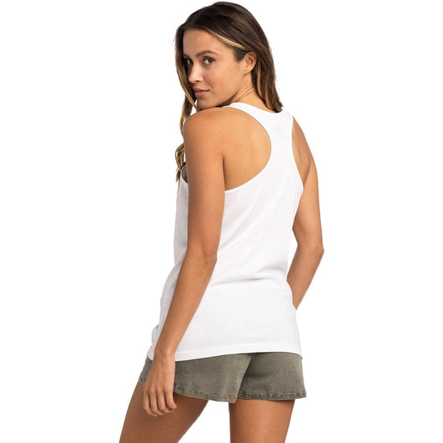 Surf Shop, Surf Clothing, Rip Curl, Aloha Tank, Tshirt, White
