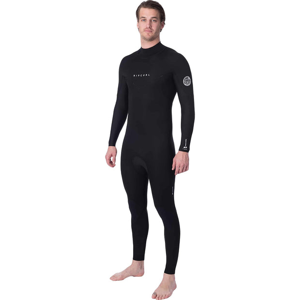 Surf Shop, Surf Clothing, Rip Curl, Dawn Patrol Back Zip 5/4, Wetsuit, Black