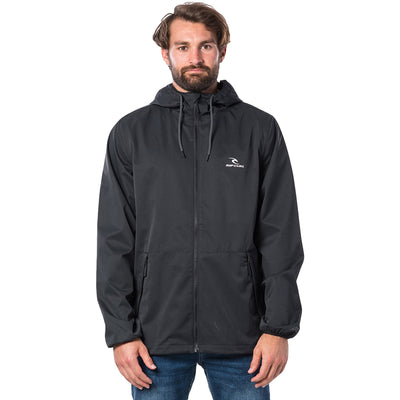 Surf Shop, Surf Clothing, Rip Curl, Essential Surfers Anti Series Jacket, Jackets, Black
