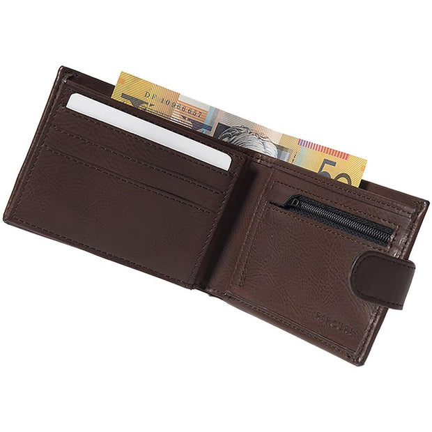 Surf Shop, Surf Clothing, Rip Curl, Horizons PU Clip All Day, Wallet, Cognac