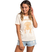 Surf Shop, Surf Clothing, Rip Curl, Hula Moon Ringer, Tshirt, Off White