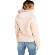 Island Hooded Polar Fleece | Sea Salt