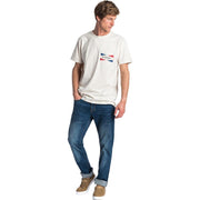 Surf Shop, Surf Clothing, Rip Curl, On Da Gun SS Tee, T-Shirt, Off White