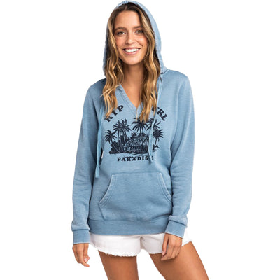 Surf Shop, Surf Clothing, Rip Curl, RC Paradise Fleece, Hoodie, Blue Heaven