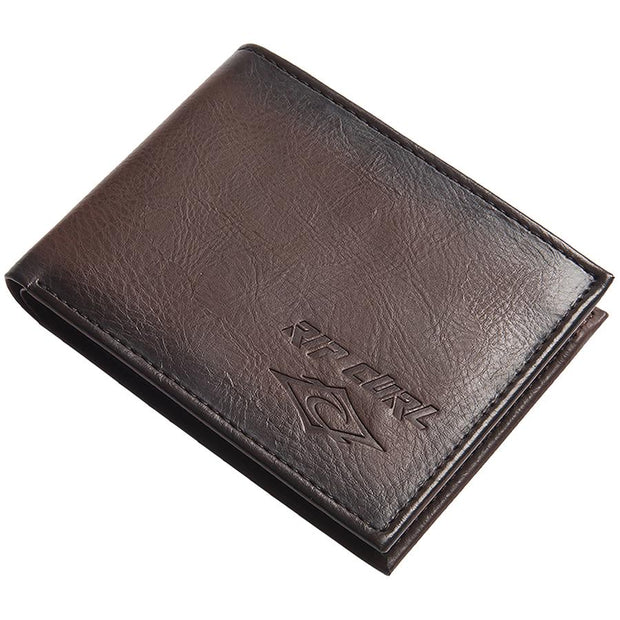Surf Shop, Surf Clothing, Rip Curl, Rocked PU All Day, Wallet, Brown