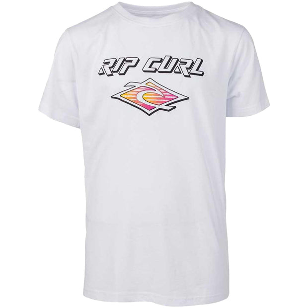 Surf Shop, Surf Clothing, Rip Curl, Slantbig, Tshirt, Optical White