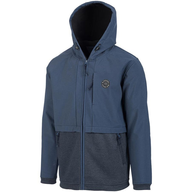 Surf Shop, Surf Clothing, Rip Curl, Split Anti-Series Fleece, Jacket, True Indigo
