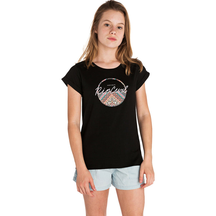 Surf Shop, Surf Clothing, Rip Curl, The Island Beats, Tshirt, Black
