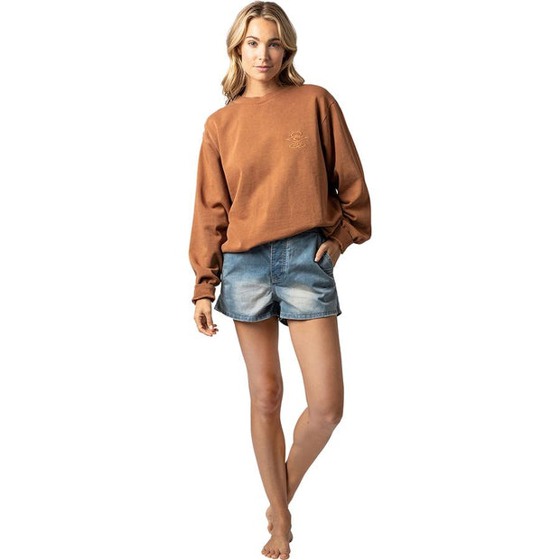 Surf Shop, Surf Clothing, Rip Curl, The Searchers Crew, Sweatshirt, Ginger