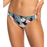 Surf Shop, Surf Clothing, Roxy, Beach Classics Regular Bikini Bottoms, Bikinis, Anthracite Tropicalababa
