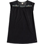 Surf Shop, Surf Clothing, Roxy, Birds Direction Ruffle Sleeve Top, Tshirt, Black