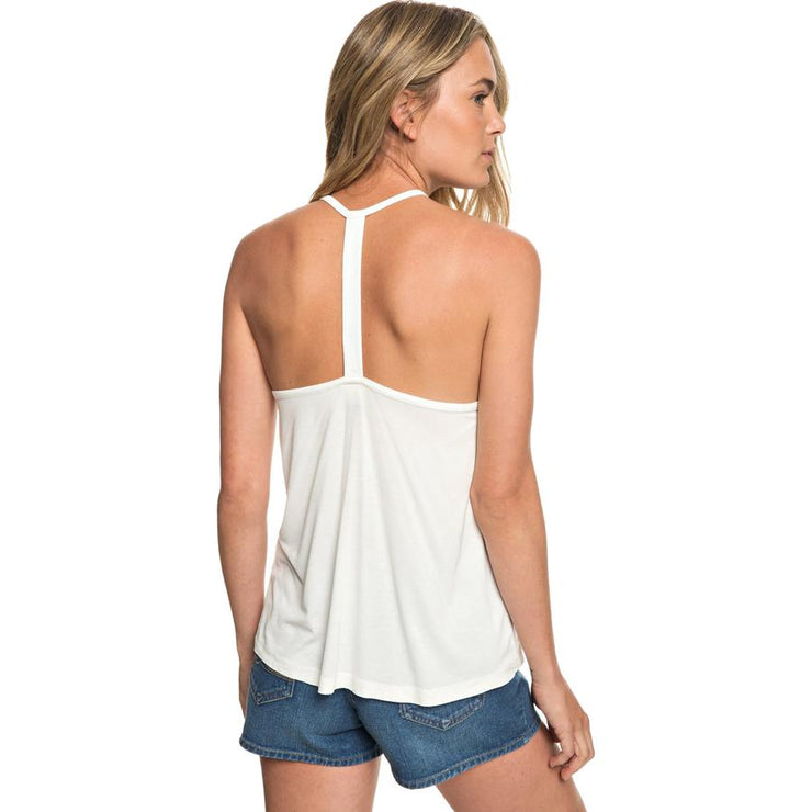 Surf Shop, Surf Clothing, Roxy, Crazy Memories Strappy Top, Tshirt, Marshmallow