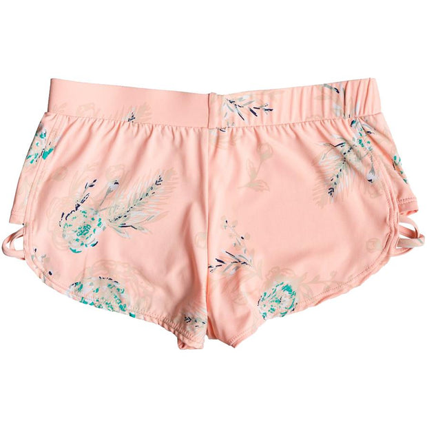 "Surf Shop, Surf Clothing, Roxy, Darling Girl 4"" Boardshorts, Shorts, Souffle Flowers In The Air"