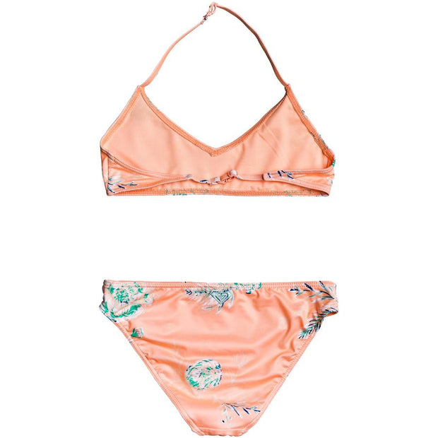 Surf Shop, Surf Clothing, Roxy, Darling Girl Bralette Bikini Set, Bikinis, Souffle Flowers In The Air