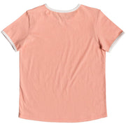 Surf Shop, Surf Clothing, Roxy, Eye On You A, Tshirt, Salmon