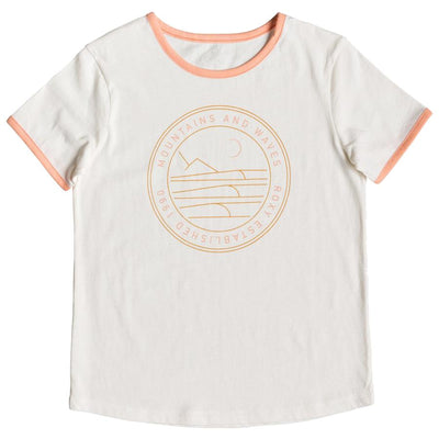 Surf Shop, Surf Clothing, Roxy, Eye On You B, Tshirt, Marshmallow