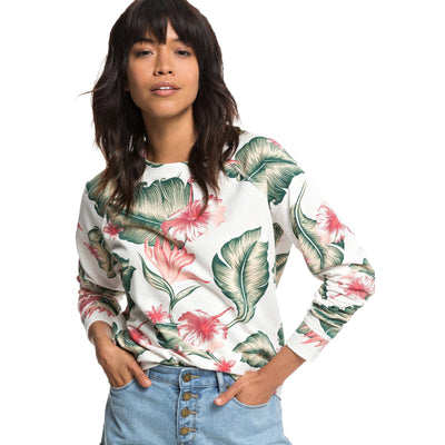 Surf Shop, Surf Clothing, Roxy, Girls Of Summer, Sweatshirt, Marshmallow Tropical Love