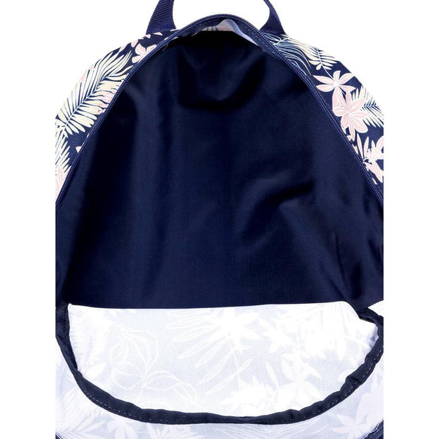 Surf Shop, Surf Clothing, Roxy, Happy At Home 23L Reversible Medium Backpack, Bag, Blue Floral