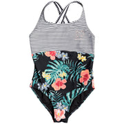 Surf Shop, Surf Clothing, Roxy, Happy Spring One Piece Swimsuit, Bikinis, Hibiscus Twist