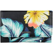 Surf Shop, Surf Clothing, Roxy, Juno Tri-Fold Wallet, Purse, Tropical Love