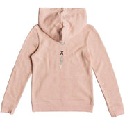 Surf Shop, Surf Clothing, Roxy, Mi Bicicleta A Girls Zip Up Hoodie, Hoodies, Salmon Heather