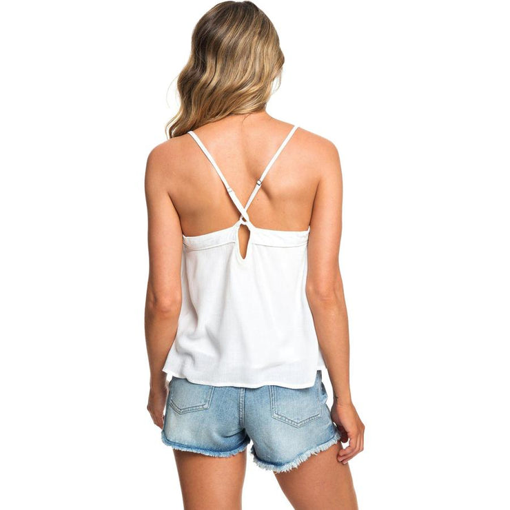 Surf Shop, Surf Clothing, Roxy, Off We Go Cami, Tshirt, Marshmallow